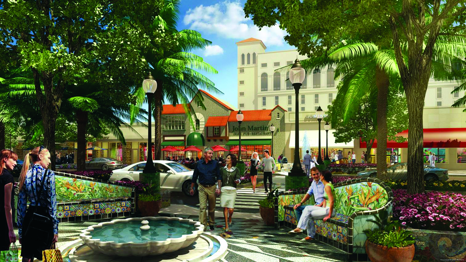 Coral Gables Downtown Streetscape Project