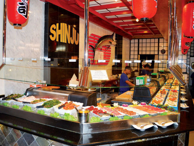 shinju japanese buffet the finest and freshest sushi and seafood rh thefloridavillager com cici's pizza buffet miami pizza hut buffet miami