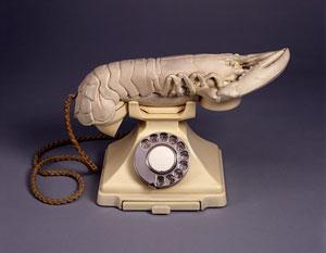 Aphrodisiac(Lobster) Telephone by Dali