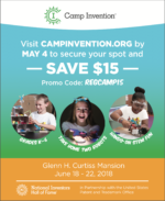 Camp Invention at Glenn H. Curtiss Mansion