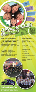All-Star Party World Fun Camp