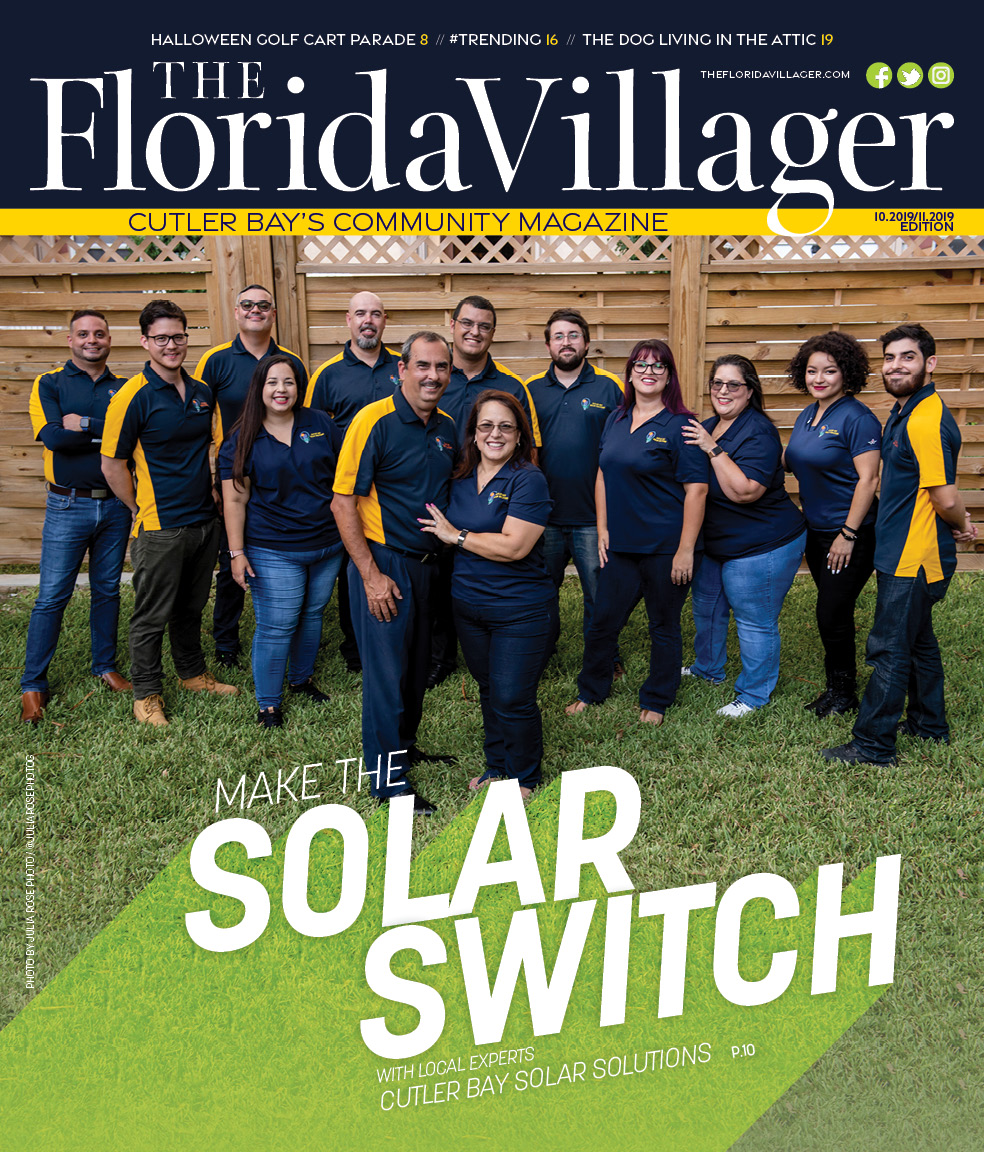 October/November 2019 : Cutler Bay Solar Solutions