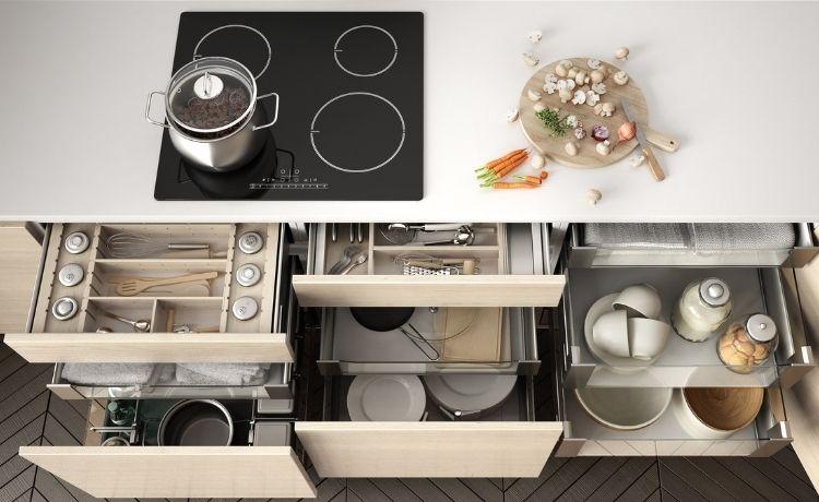 Organization Ideas To Maximize Your Kitchen's Storage