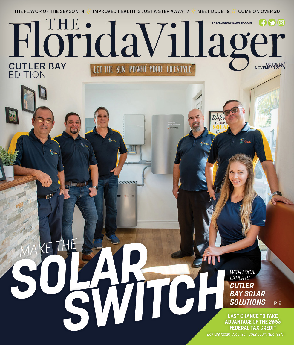 October/November 2020 : Cutler Bay Solar Solutions