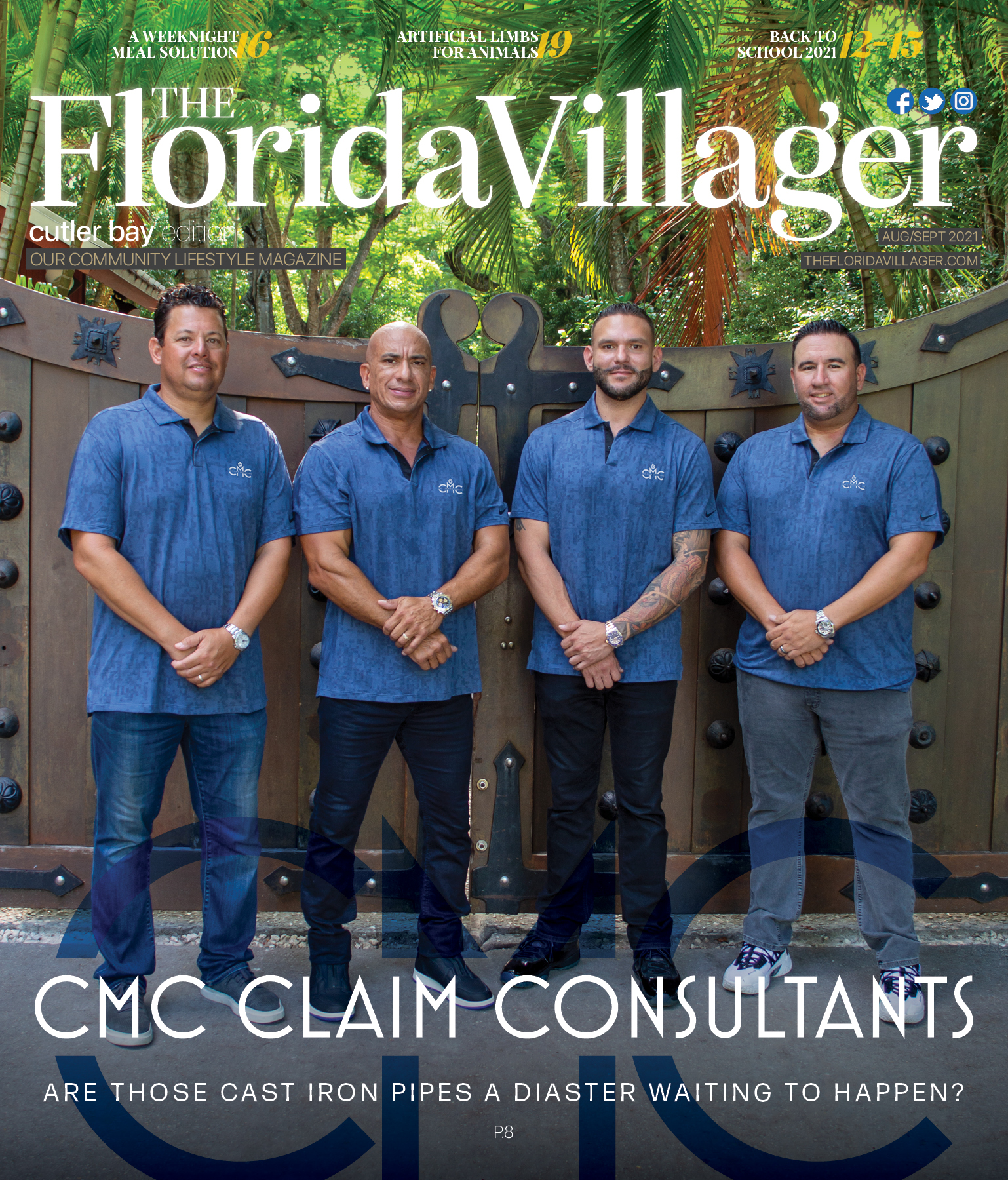 August/September 2021 : CMC Claim Consultants
