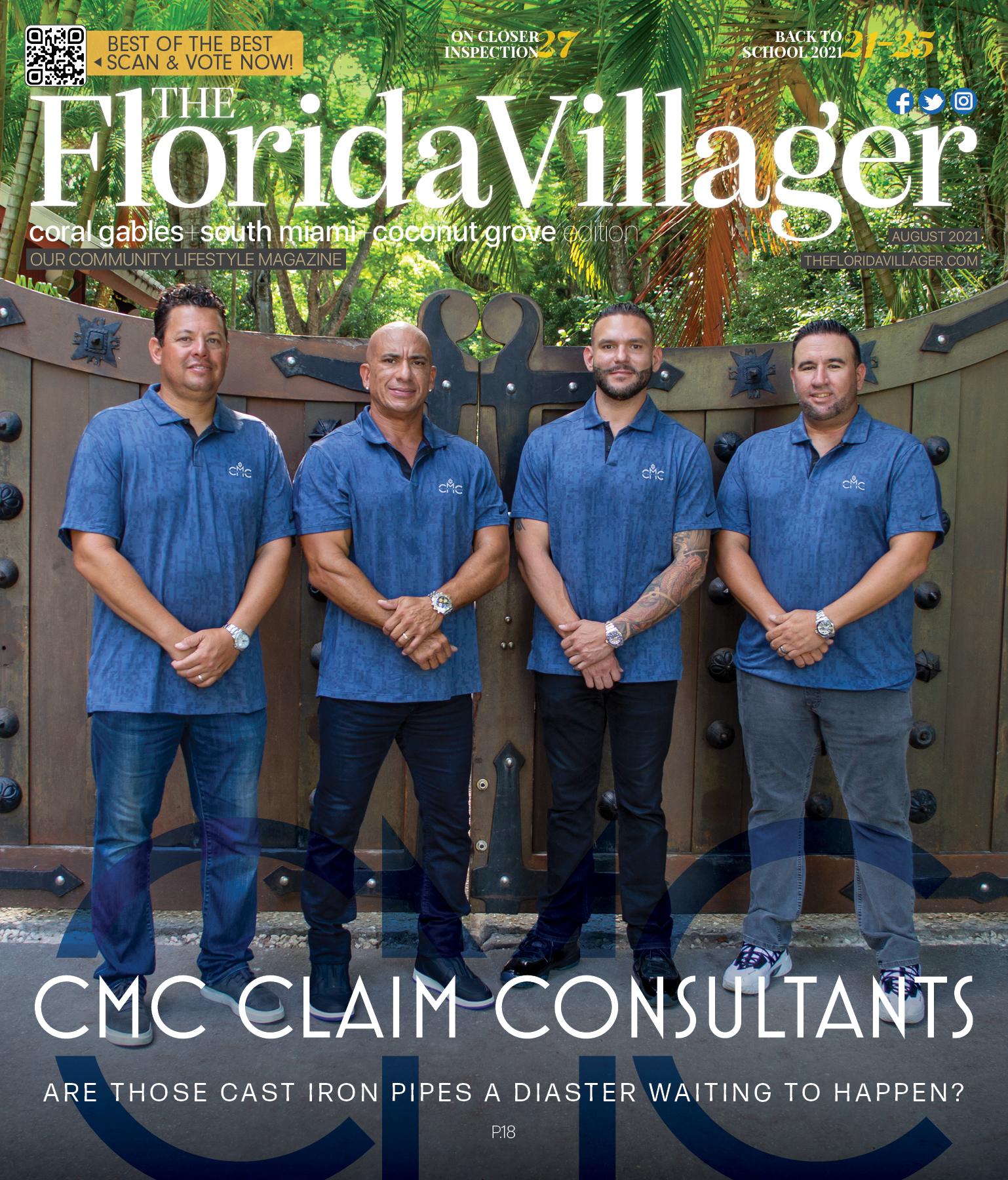 August 2021 : CMC Claim Consultants